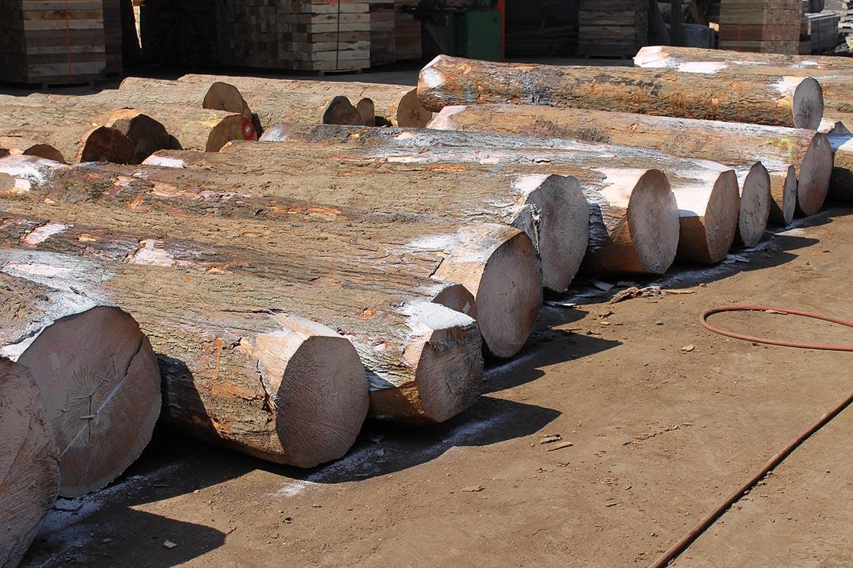 Fixed width red oak lumber